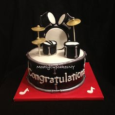 Drum Set 3d Cakes Flickr Photo Sharing Picture Cakepins