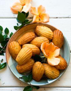 Vanilla Bean and Thyme Madeleines - Desserts for Breakfast