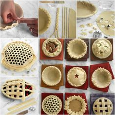Do you like baking pies? I found these creative and simple ways to dress up your pies with different edge ideas. There are braids, flower and leaf pattern, honeycomb pattern, scallop, checkerboard, etc. They all look so pretty. But my favorite one is the checkerboard edge. Next time when you bake, …