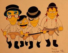 The Simpsons - A Clockwork Orange/ Os Simpsons - Laranja Mecânica