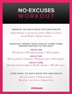 Great Full Body Home Workout Do When You Wake Up To Get Your