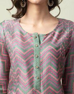 Silk Kurti Designs, Churidar Neck Designs, Kurta Neck Design, Kurta Designs Women, Kurti Designs Party Wear, Salwar Designs, Printed Kurti Designs, Chudi Neck Designs, Neck Designs For Suits