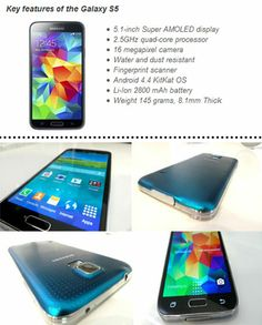 Key Features of the Samsung #GalaxyS5 - Read Our Full Hands-On Review CLICK HERE