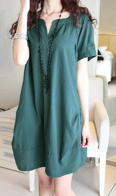 Women chiffon dress short sleeve dress linen dress loose chiffon shirt maternity dress large cotton blouse plus size dress AE31