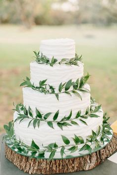 44 Green Wedding Cake Inspiration with Classy Design - Bellestilo Wedding Cake Rustic, Wedding Table, Wedding Backyard, Tuscan Wedding, Cake Wedding, Wedding Ceremony, Party Wedding, Wedding Centerpieces, Nature Wedding Cakes