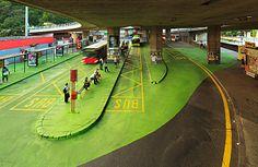 polis: Reinterpreting Bridges as Public Art Landscape And Urbanism, Urban Landscape, Under Bridge, Urban Ideas, Urban Intervention, Future Buildings, Sustainable Architecture, Parasitic Architecture, Classical Architecture
