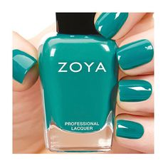 Zoya Cecilia - Cecilia by Zoya can be best described as a classic teal in a full coverage and densely pigmented cream formula. Color Family - Blue, Green, Finish - Cream, Intensity - 5 ( 1 = Sheer - 5 = Opaque ), Tone - Warm.