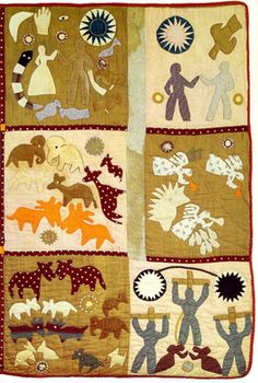 The Recognitions Mrs Harriet Powers Bible Quilt