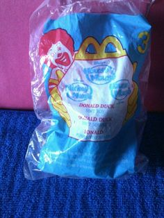 2001 McDonalds Happy Meal Toys - House of Mouse #3 Donald Duck #Disney