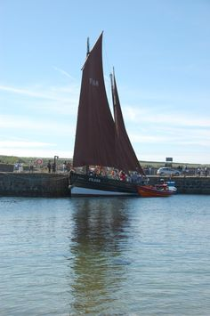 'Traditional Sail Boat' - Ross Henderson | Taken at the Portsoy Boat Festival