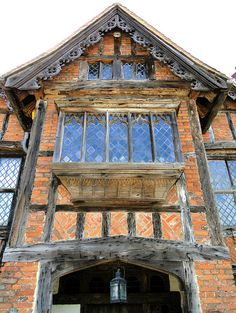 Dorney Court, Buckinghamshire, a great example of Elizabethan architecture (near Windsor & Eton)