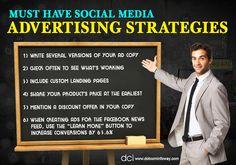 Must Have Social Media Advertising Strategies!