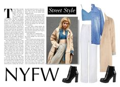 """""""Best NYFW Street Style Trend"""" by anacarolinaferraz ❤ liked on Polyvore featuring TIBI, Edit, mel, Jeffrey Campbell and NYFW"""