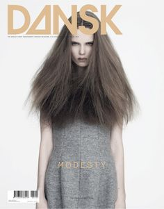 ambush™: graphic design -- Caroline Brasch Nielsen by Henrik Bulow for Dansk.fashion magazine