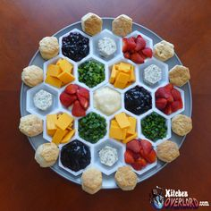 Kitchen Overlord - Settlers of Catan Biscuit Bar