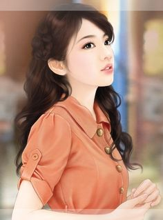 ❁ Ꮳhίиɛѕɛ Ꭺɾt ❁ Beauty Art, Beauty Women, Girls In Love, Cute Girls, Art Chinois, Beautiful Fantasy Art, Painting Of Girl, China Girl, Asian Celebrities