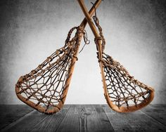 Vintage Lacrosse Sticks Crossed Upside down Photo Print, Lacrosse Prints, Wall Decor, Wall Art, Spo Mohawk Indians, Hockey, Yoga Mode, Photo Print, Professional Photo Lab, Background Vintage, Photo On Wood, Fine Art Photography, Decoration