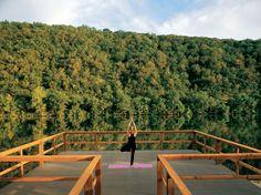 Lake Austin Spa Resort yoga