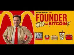 Craig Wright - The Founder of Bitcoin + Bitcoin SV Craig Wright, Youtube, Youtubers, Youtube Movies