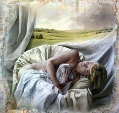Encantadores Pinturas de Pascal Chove | Memórias