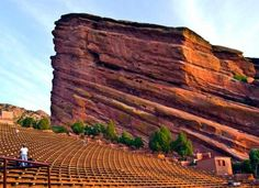 A photo of Red Rocks Amphitheater