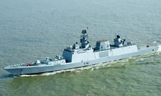 INS Sahyadri - India's indigenously built guided missile stealth Frigate - reaches Pearl Harbour for 'RIMPAC' 2018 Navy Military, Army & Navy, Indian Navy Ships, Navy Coast Guard, People's Liberation Army, Armada, Military Equipment, Pearl Harbor, Da Nang