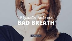 There's no need to be embarrassed by bad breath: These 9 natural cures for bad breath not only ease the problem, they help stop halitosis before it starts. Chronic Bad Breath, Causes Of Bad Breath, Cure For Bad Breath, Bad Breath Remedy, Persistent Cough, Breath In Breath Out, Mouthwash, Oral Hygiene, Natural Cures