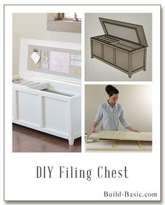 Diy File Storage Bench Storage Benches Bench And Filing