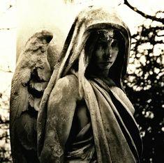 angel statues cemetery | angel statue tenebres angel statue demon gothic guardian cemetery dark ...