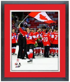 Jonathan Toews 2014 Winter Olympics Team Canada - 11 x 14 Matted/Framed Photo
