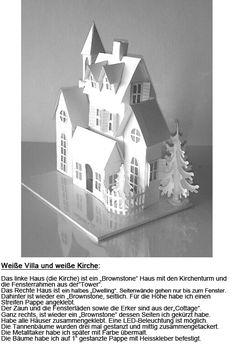 Weiße Villa und weiße Kirche-3