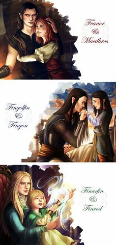 At least we know that Finrod walks with Finarfin in Valinor and I'm pretty sure that Fingolfin and Fingon were noble enough to be released from the Halls of Mandos by Namo if that's what they wanted. But Feanor's later deeds were just too evil so he will never leave be allowed to live again.
