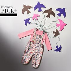 This vintage-inspired dungarees outfit is so cute & will ensure your baby is the best-dressed this autumn.