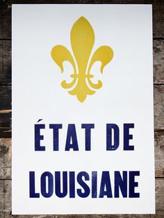 nothing says louisiana like the fleur de lis.