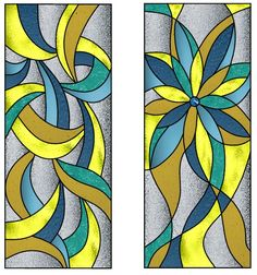 Stained Glass Quilt, Faux Stained Glass, Stained Glass Designs, Stained Glass Panels, Stained Glass Projects, Stained Glass Patterns, Glass Painting Designs, Paint Designs, Mosaic Art
