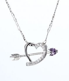 Cupid's Arrow Pendant Necklace for Her