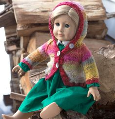 Knit an Adorable Doll Sweater