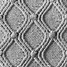 Knitting Pattern Square No. 25, Volume 34 | Free Patterns | Yarn