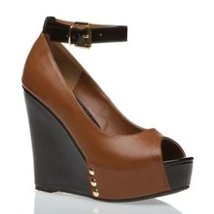 'The' Mulberry's (Brown |possibly| leather open-toes w/ ankle brace)