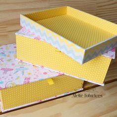 Muito amor pelas caixas, além de organizar ainda deixam o ambiente ainda mais…