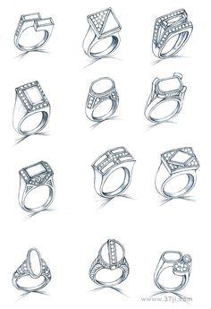 nunca desenhei anéis, vou tentar!
