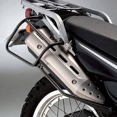Yamaha XT250 Genuine Rack and Side Guard Supports