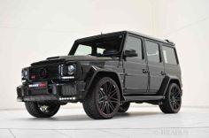 """G- wie gewaltig: BRABUS 800 """"iBusiness"""" auf Basis Mercedes G 65"""