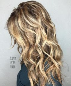 Long Layered Sandy Blonde Hair