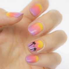 Summer Ombre Nails || 10 Best Nail Designs of 2013