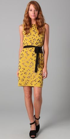 Diane von Furstenberg  Yvan Embellished Dress  $626.50 (30% off): Amber