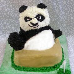 If I wasn't already having my own panda cupcakes for my birthday...this would totally be it