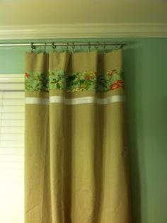 Curtains from Painter Dropcloth and Curtain Rod from electrical conduit... Budget decorating!