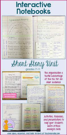 Use Interactive Notebooks in a high school setting to promote creativity, engagement, and analytical thinking. Learn about how to lay out your spreads to scaffold and maximize student output, all while maintaining an organization that helps students use their notebooks as a reference.