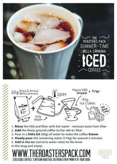 Iced Coffee - Here's our favourite method. And oh my, is it ever delicious.